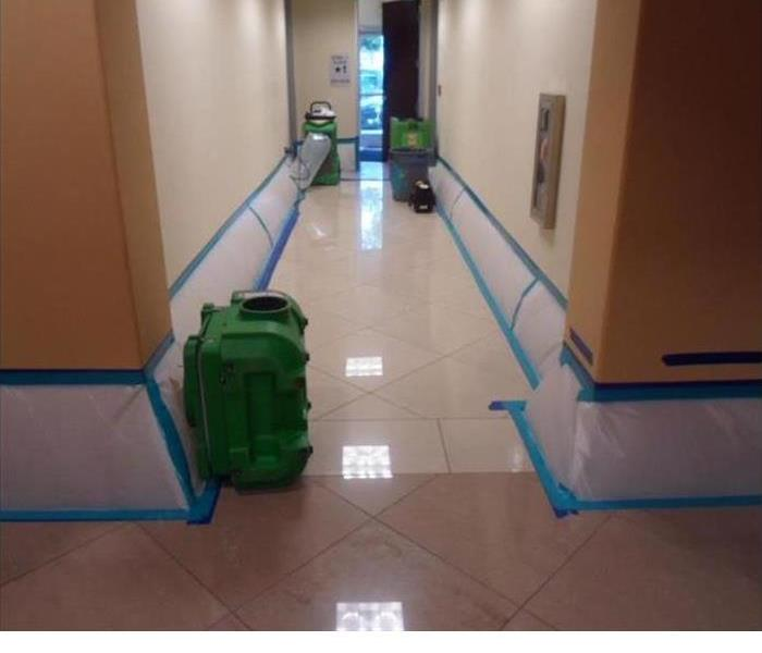 Cleaning Up A Large Commercial Water Loss After