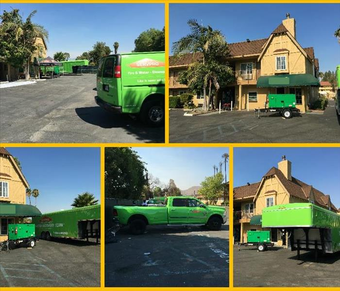 SERVPRO of Costa Mesa Helps with Large Loss