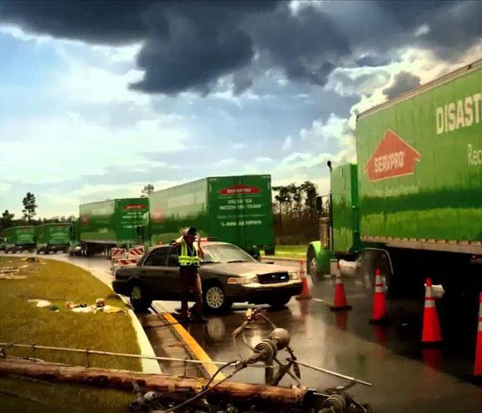 Storm Damage When Storms or Floods hit Costa Mesa, SERVPRO is ready!